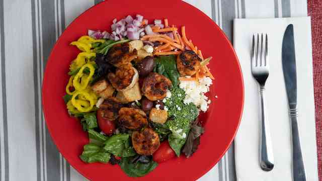New Greek Salad!
