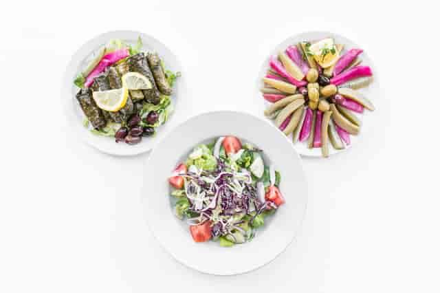 lebanese food platter
