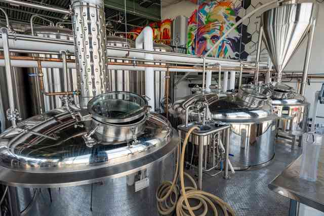 One Of Our 4 Brewing Systems!