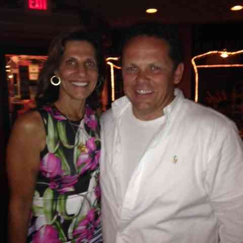 Person Of Interest star Kevin Chapman with Carla Gomes