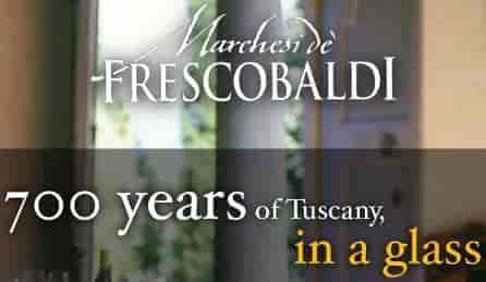 Frescobaldi wine – dinner