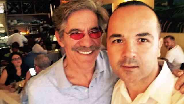 Geraldo Rivera with his wife and daughter at Terramia, North End Boston – Boston Herald