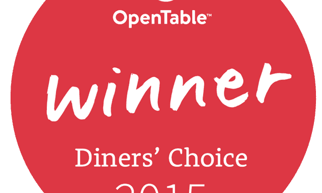 OpenTable's Diners' Choice – Local Pick in 2015
