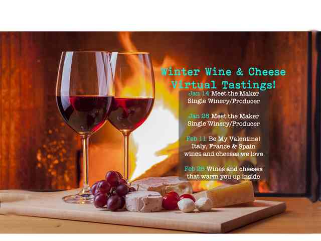 wine and cheese tastings