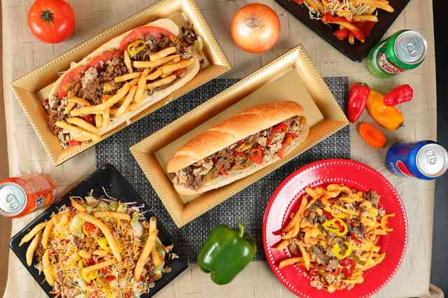 subs and fries