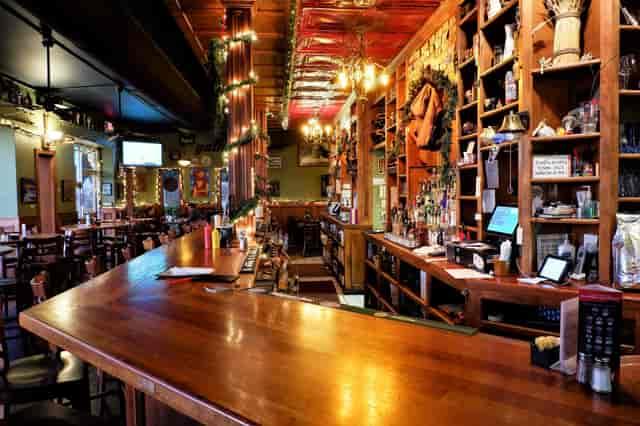 the corner pub interior