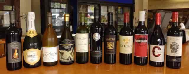 bottled Fine Wines & Craft Brews on Tap