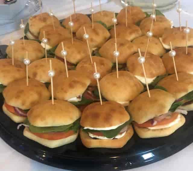 mini ciabatta sandwiches