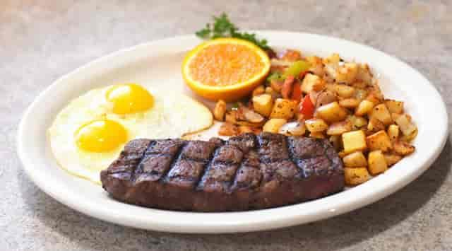 sirloin breakfast