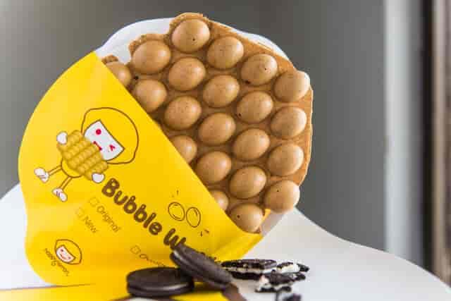 oreo waffle