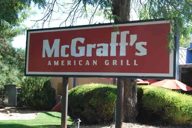 mcgraffs sign