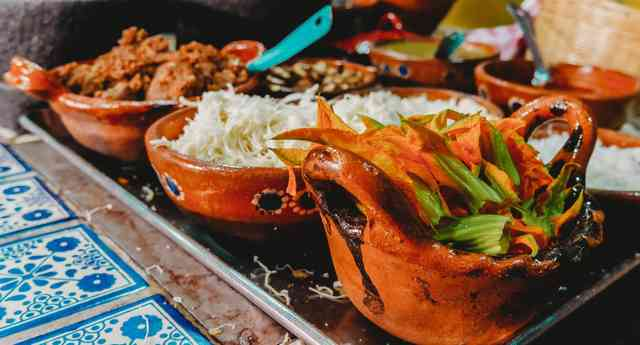 Various mexican cuisines