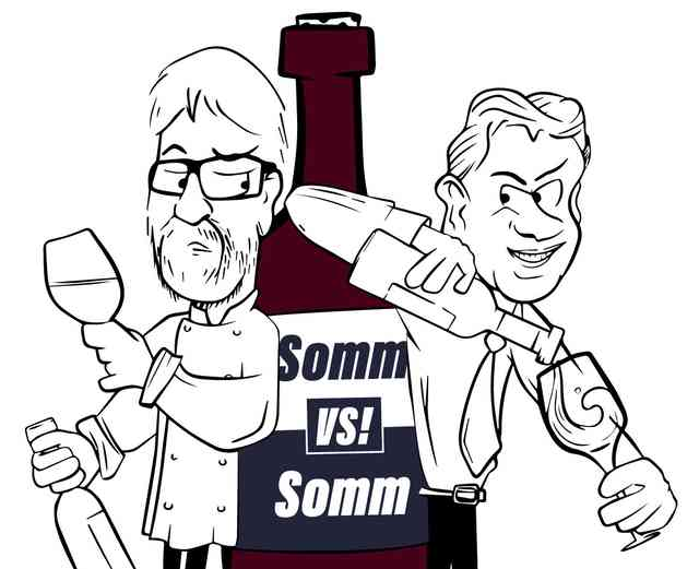 somm v somm graphic art