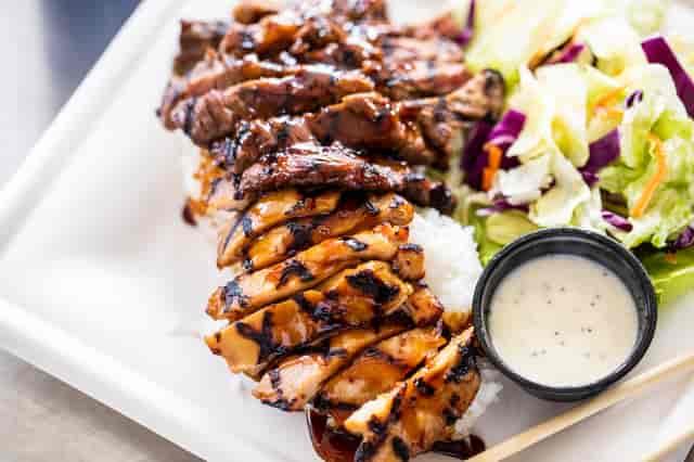 Combo Teriyaki- Your choice of two meats!