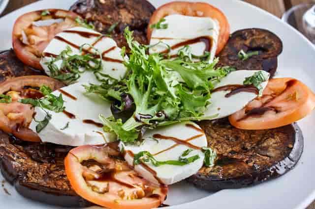 TIMES SQUARE Caprese Salad