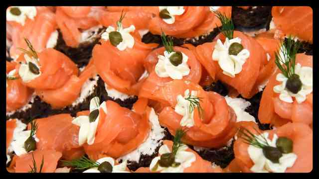 Salmon Rounds