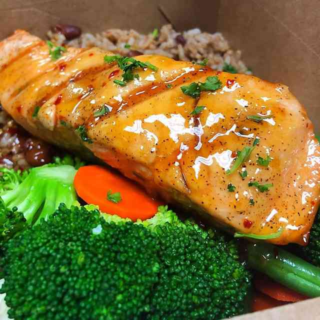 Pineapple Glazed Salmon