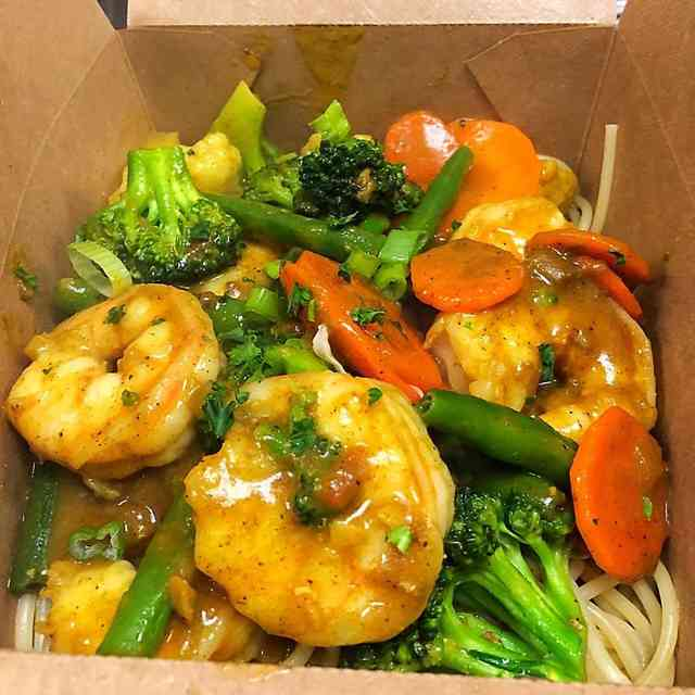 Curry Shrimp Rasta Pasta