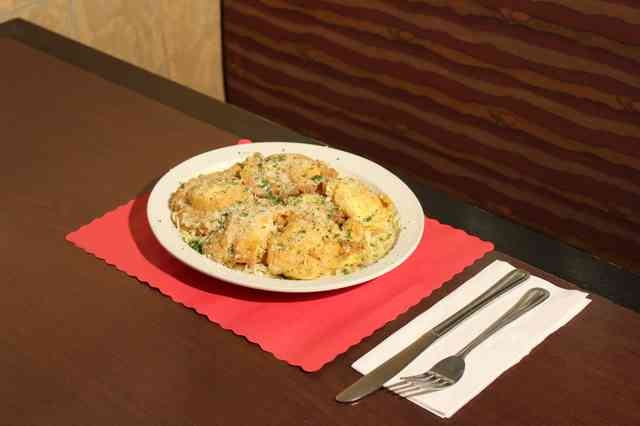 pasta with silverware