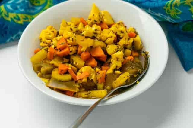 torshi (pickled veggies)