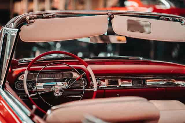 old timey car