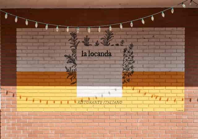 exterior of la locanda