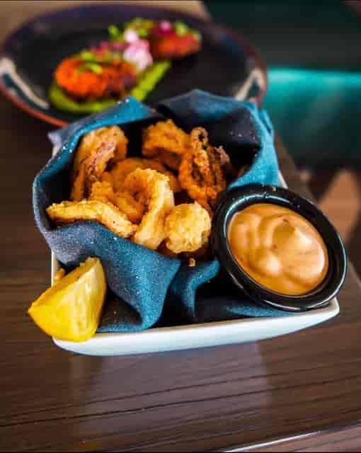 delicious fried calamari
