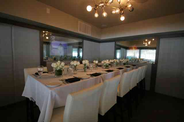 Private event room