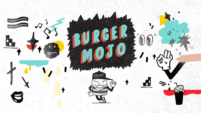 Burger Mojo illustrations