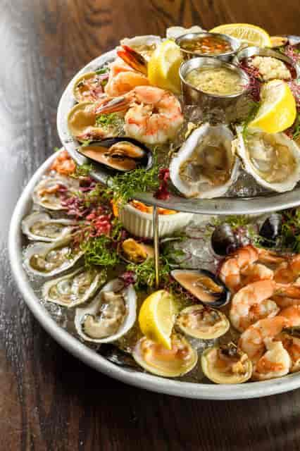 high rise of shellfish