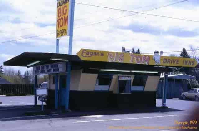 old photo of eagan's big tom