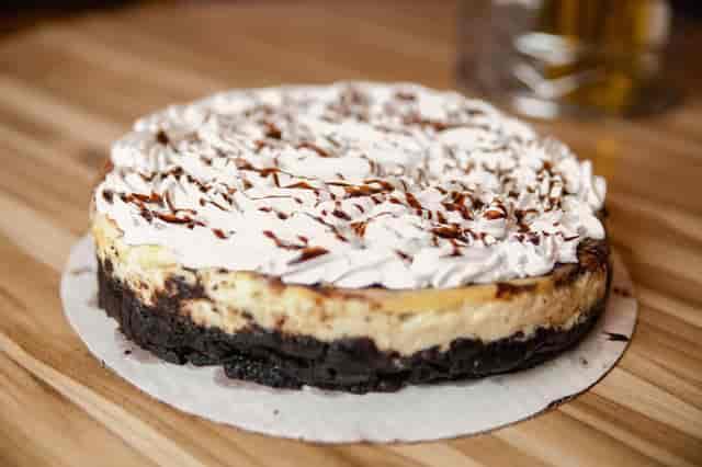 chocolate cake and icing