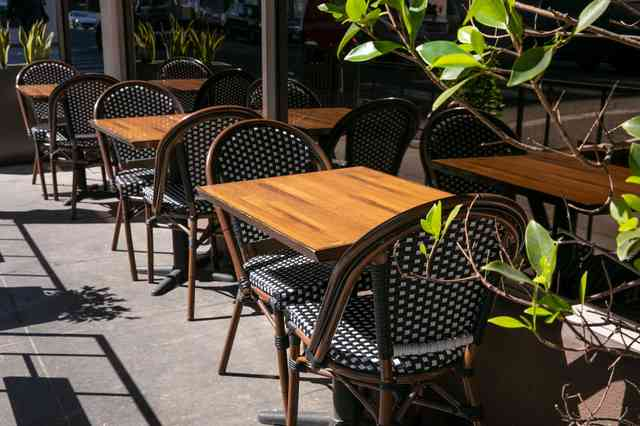 exterior tables