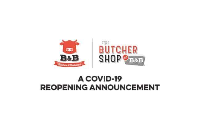 B&B Butchers & Restaurant Reopening - Fort Worth
