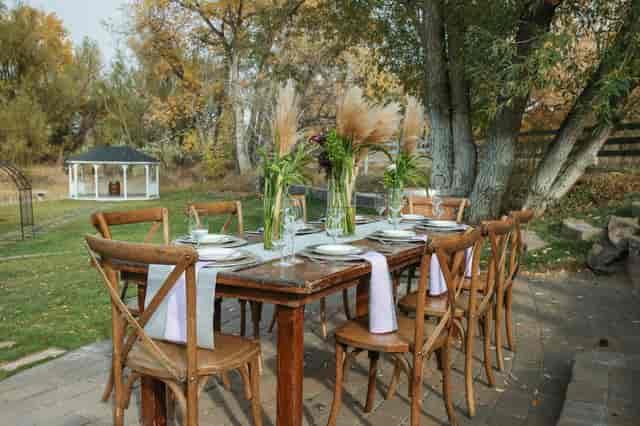 tabel set up