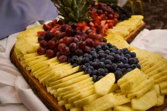Catered Fruit Display