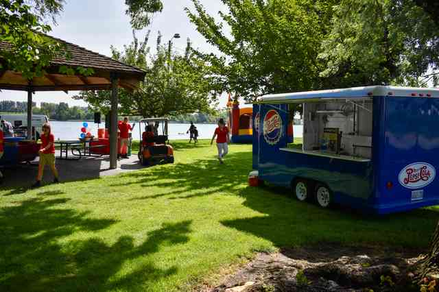 Corporate Picnic at Catering Event