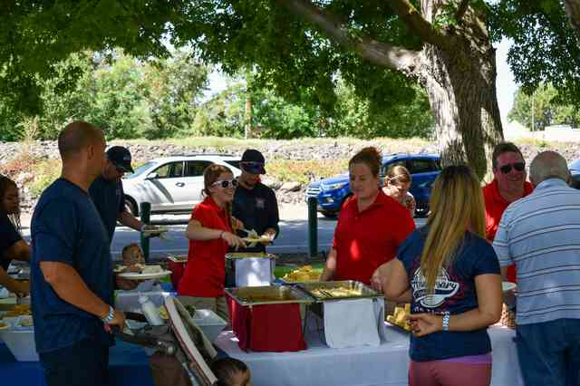 Company Picnic at Catering Event