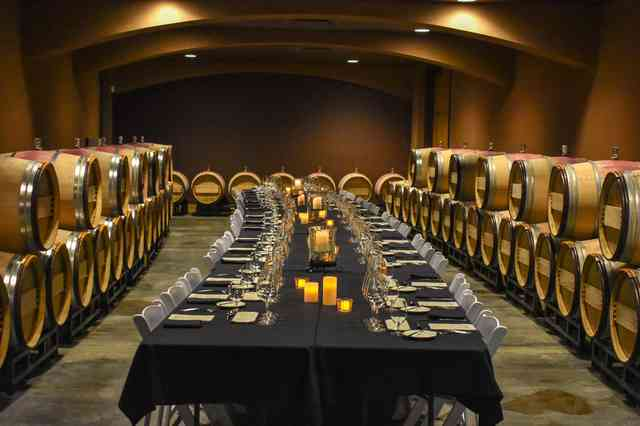 Table Set at Winery