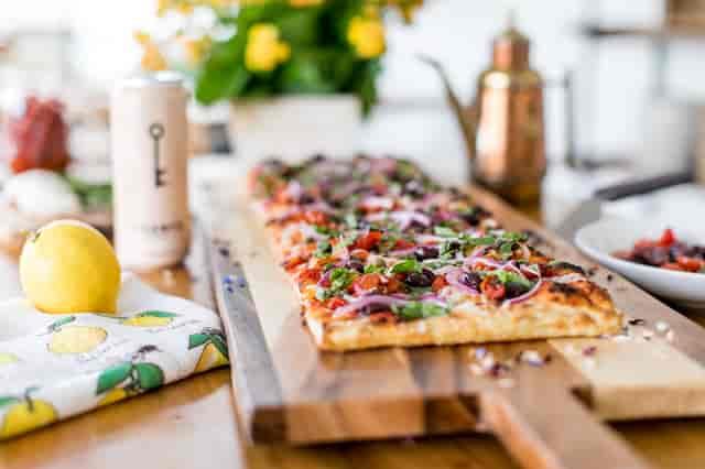 Roman Vegan Pizza
