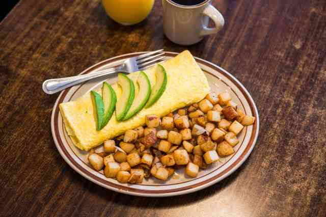 californian omelette