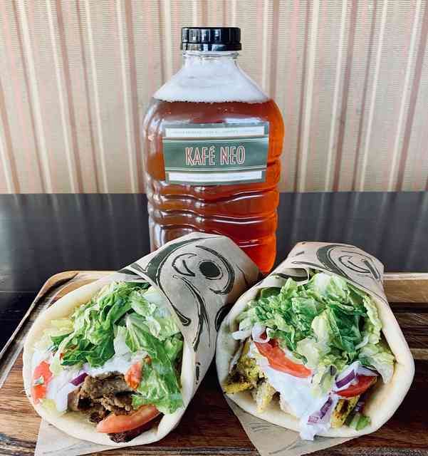 gyro/growler combo