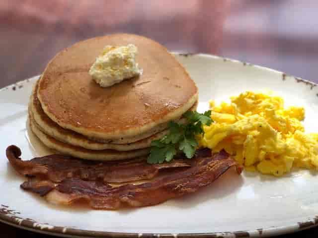 breakfast - pancakes