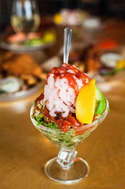 bay shrimp cocktail