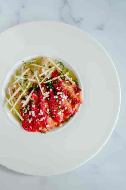salman beet salad