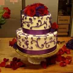 ribbons and purple swirl