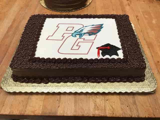 graduate cake