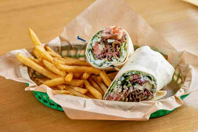 Greek Gyros Wrap