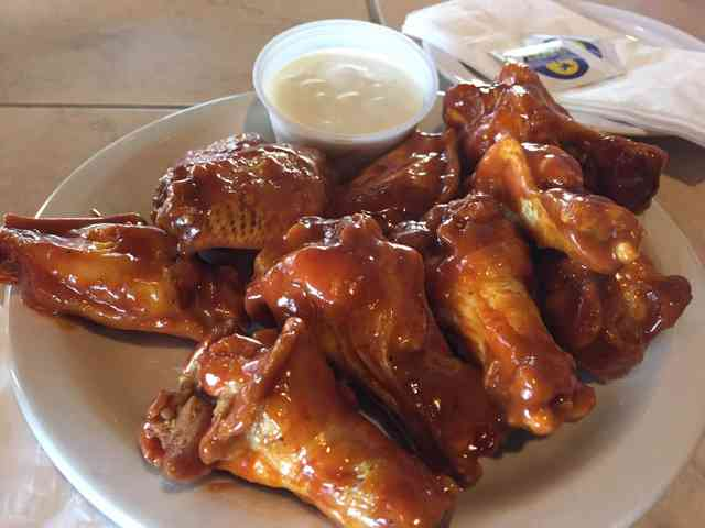 tangy gold wings