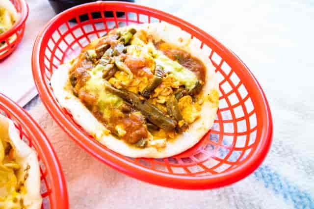 nopales egg taco